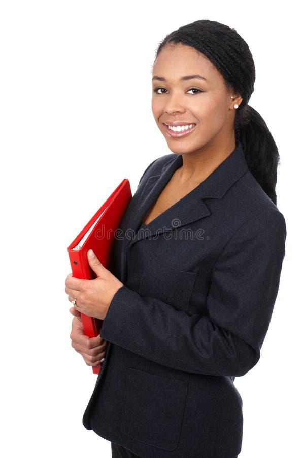 Donna di affari. fotografia stock