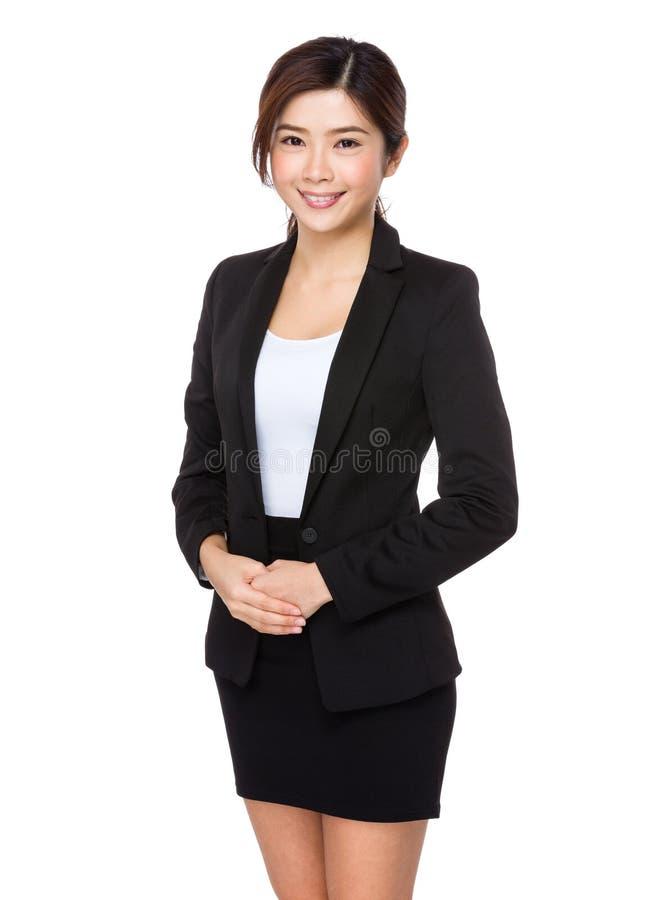 Donna di affari - 2 immagine stock