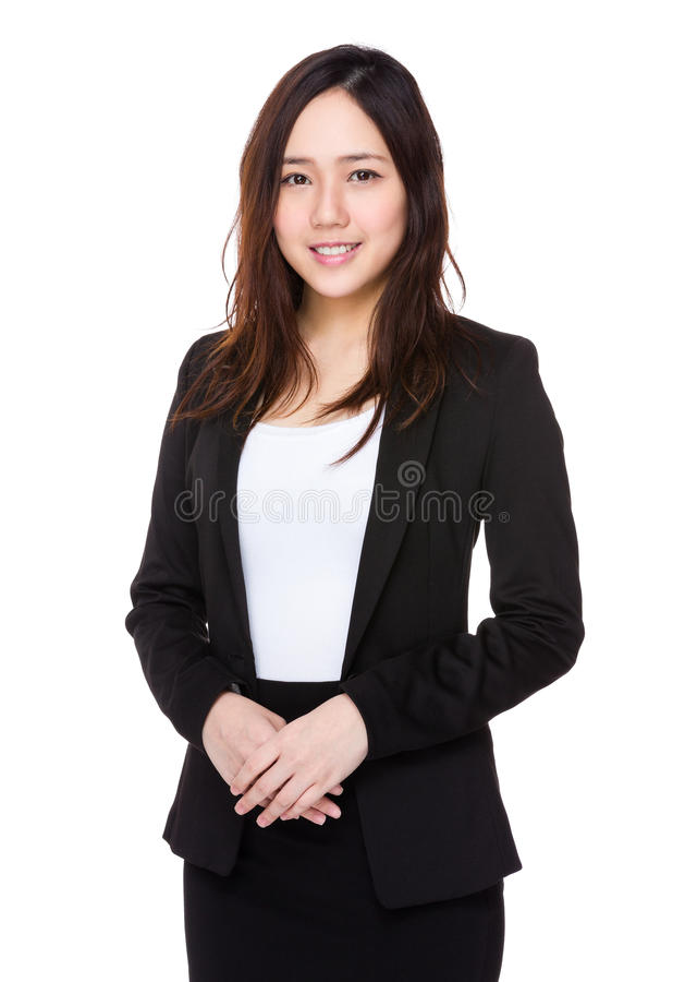Download Donna di affari immagine stock. Immagine di mandarino - 55356623