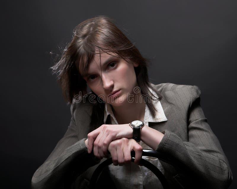 Download Donna di affari fotografia stock. Immagine di individualità - 7303586