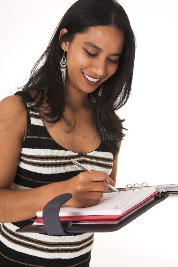 Donna di affari africana fotografie stock