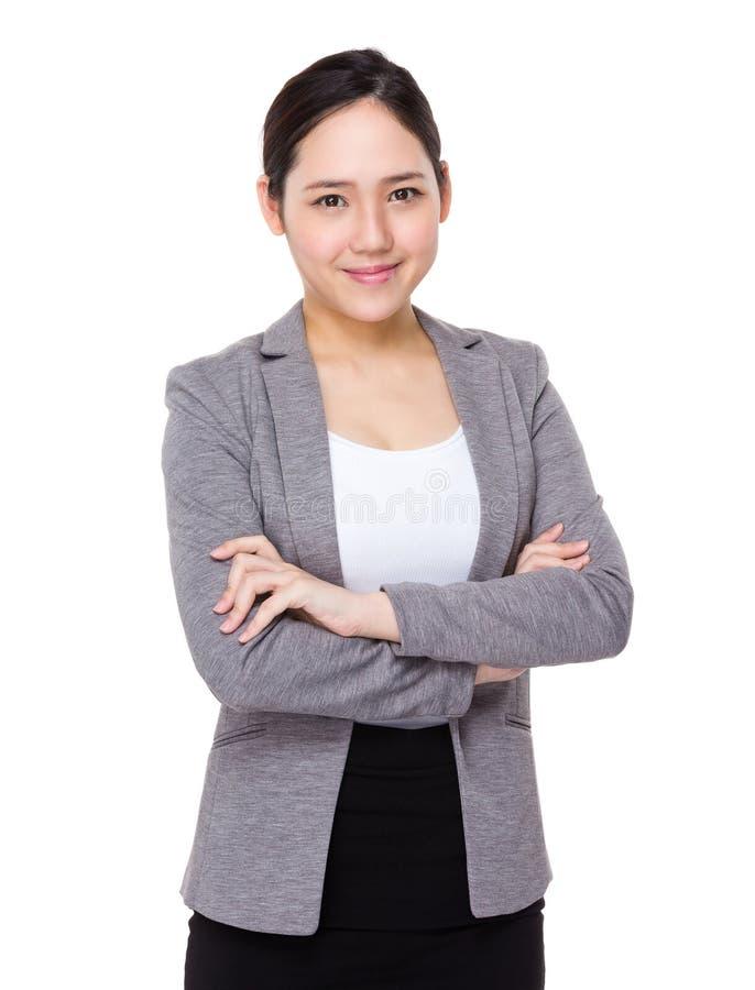 Download Donna di affari asiatica fotografia stock. Immagine di grande - 55356482