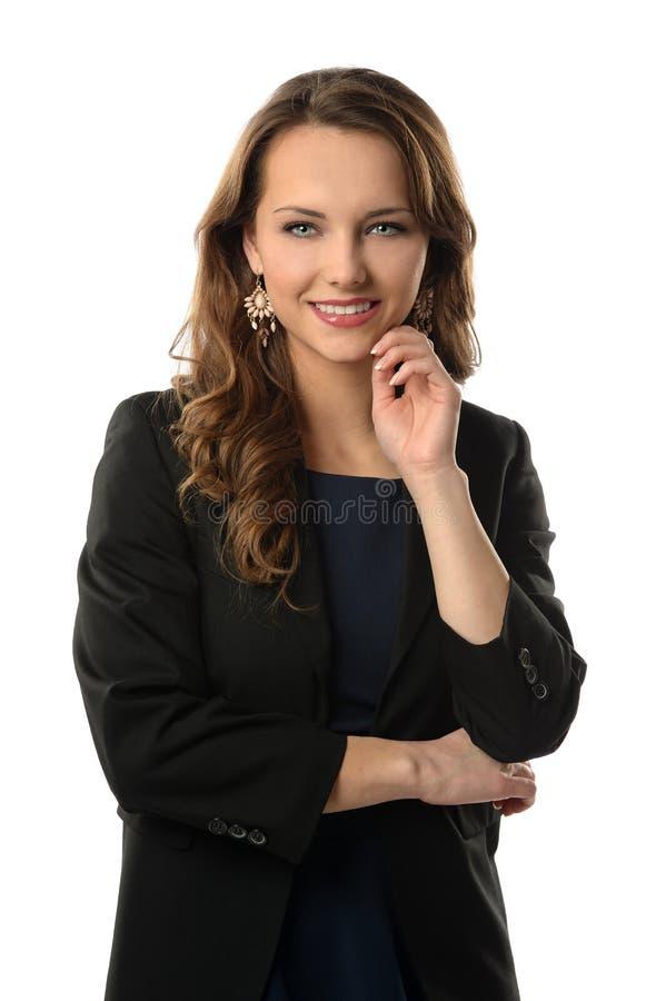 Donna di affari attraente immagini stock