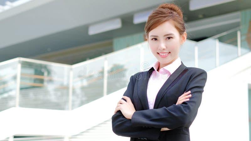 Donna di affari di bellezza immagini stock libere da diritti