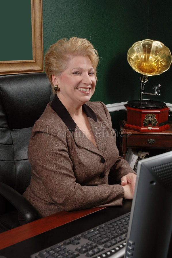 Donna di affari corporativi fotografie stock