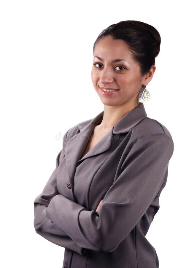 Donna di affari del Latino immagini stock libere da diritti