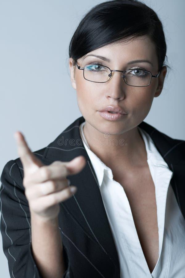 Donna di affari (Fredda-Ver) immagini stock