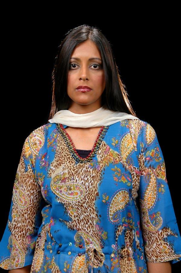 Donna di affari indiana immagini stock libere da diritti