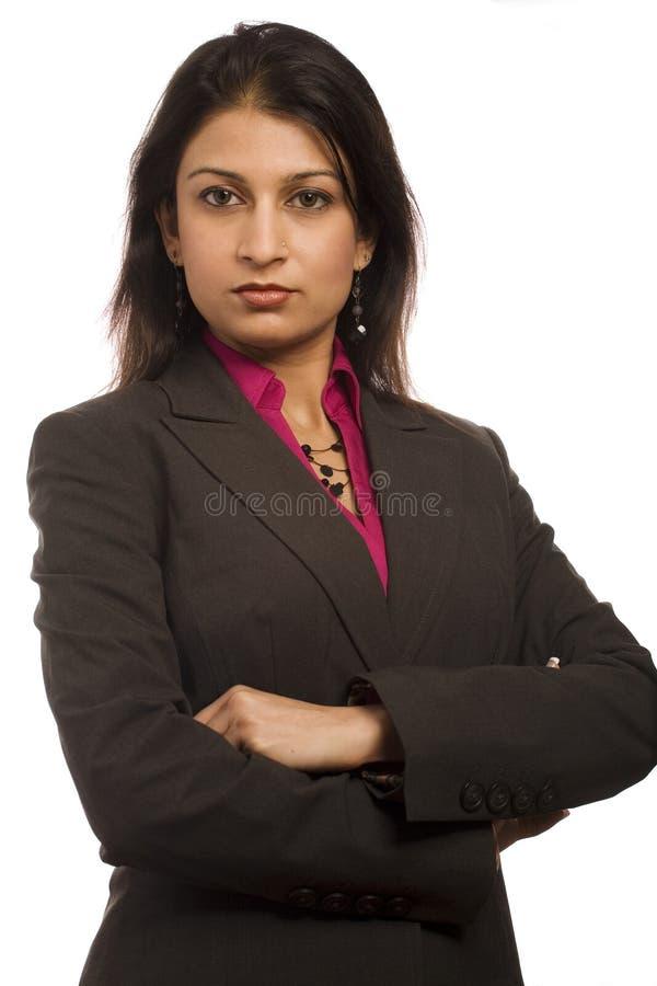 Donna di affari internazionale immagine stock