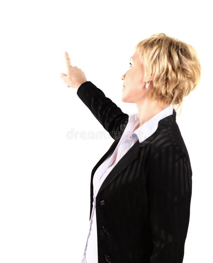 Donna di affari nel suo 40s immagini stock