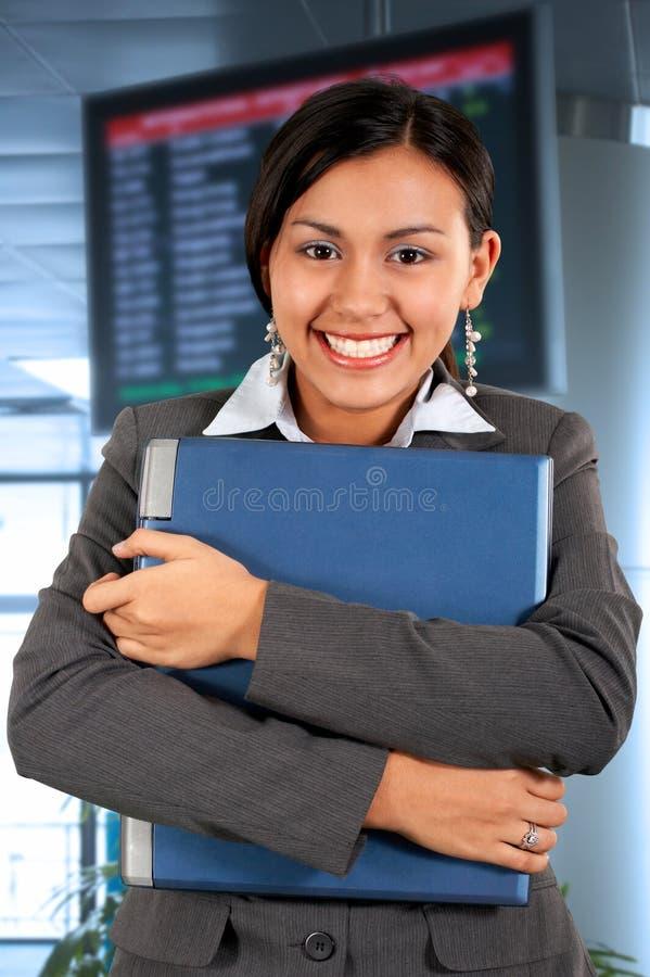 Donna di affari professionale fotografia stock