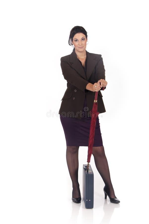 Donna di affari, segretaria fotografia stock libera da diritti