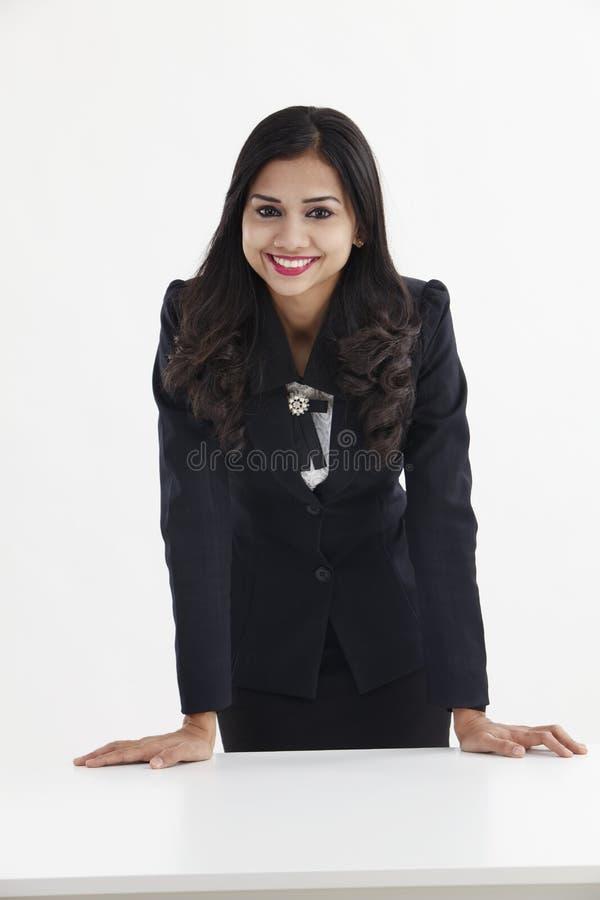 Donna di affari sicura immagini stock libere da diritti