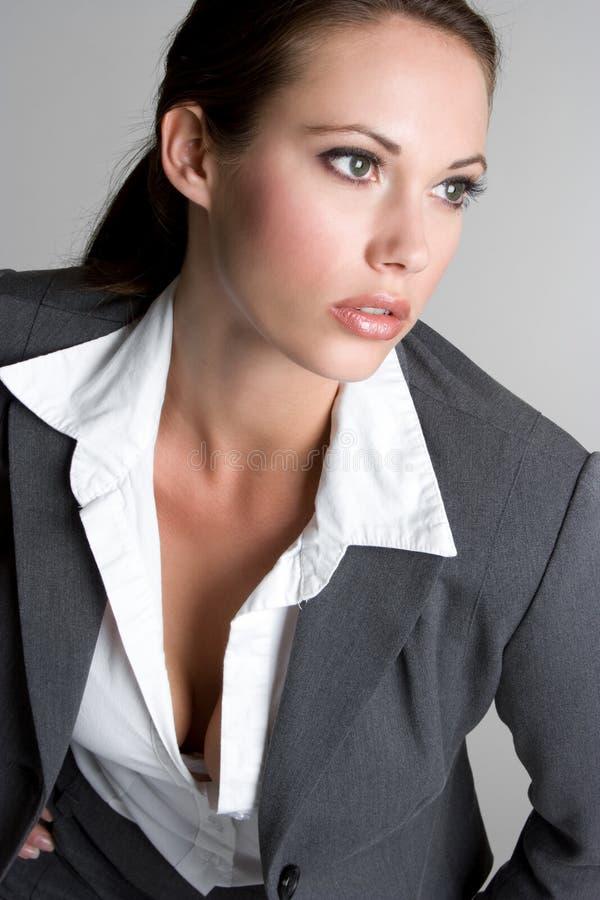 Donna di affari splendida fotografie stock libere da diritti