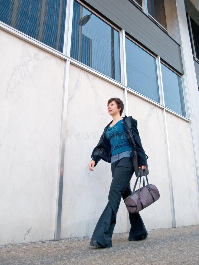 Donna di affari urbana 6 immagine stock libera da diritti