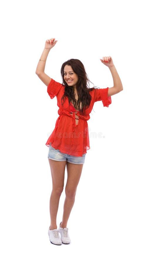 Donna di Dancing fotografia stock