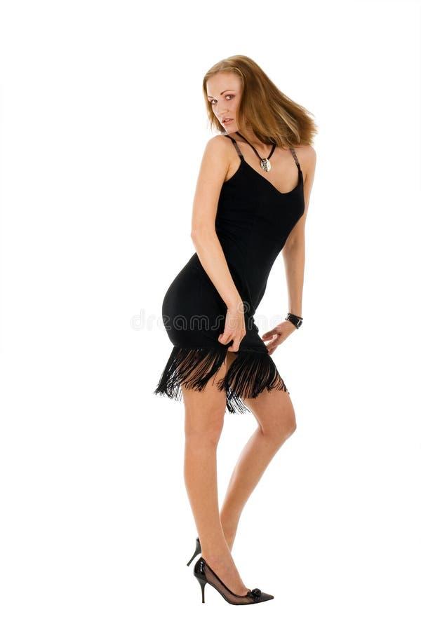 Donna di Dancing fotografia stock libera da diritti