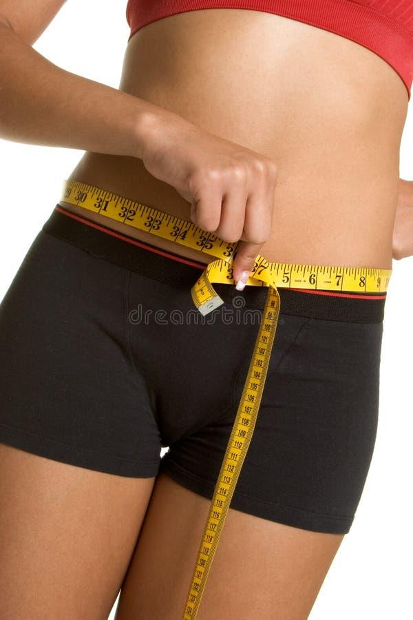 Donna di dieta fotografie stock