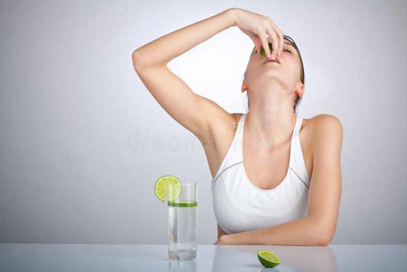 Donna Di Dieta Immagine Stock