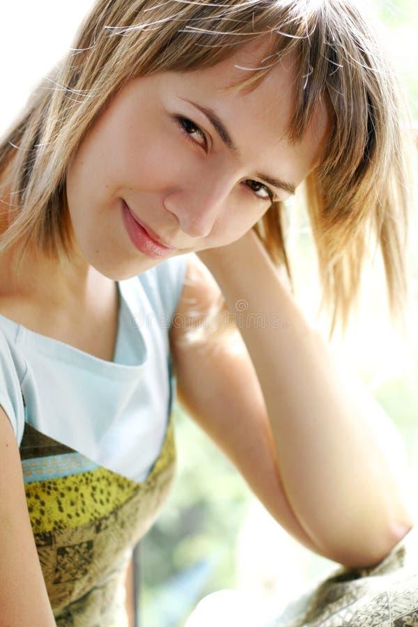 Donna di estate fotografia stock libera da diritti