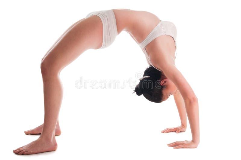 Donna di flessibilità fotografie stock