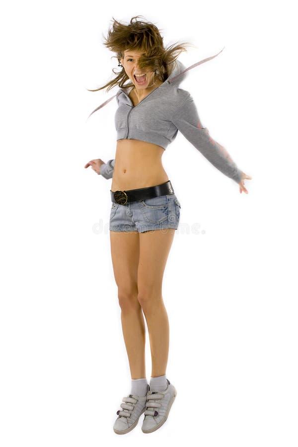 Donna di forma fisica fotografie stock libere da diritti