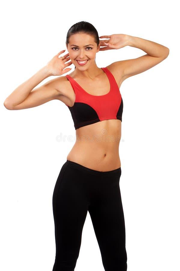 Donna di forma fisica. immagine stock