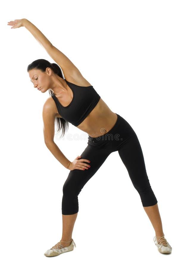 Donna di ginnastica immagini stock libere da diritti