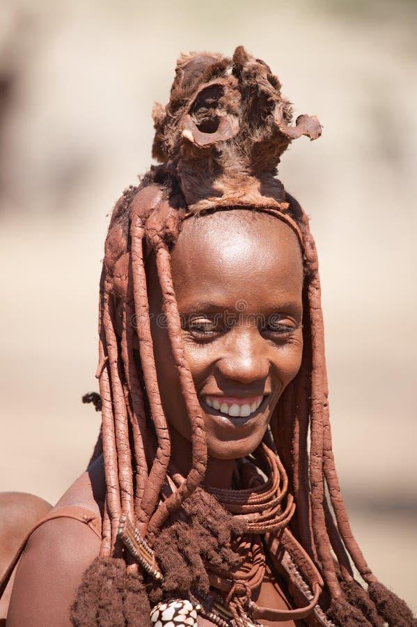 Donna di Himba fotografia stock