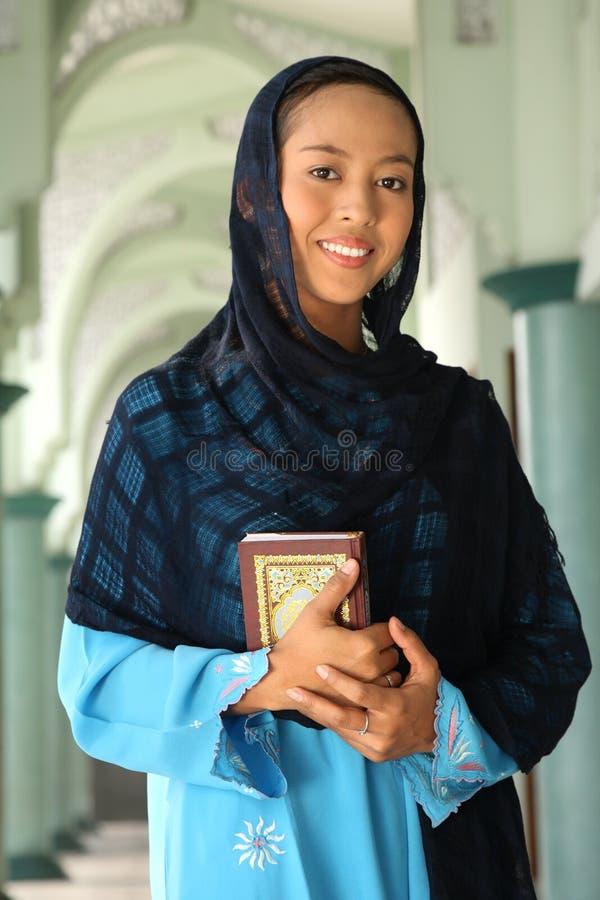 Donna di islam immagini stock libere da diritti