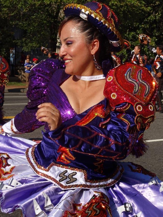 Donna di Latina del primo piano fotografie stock