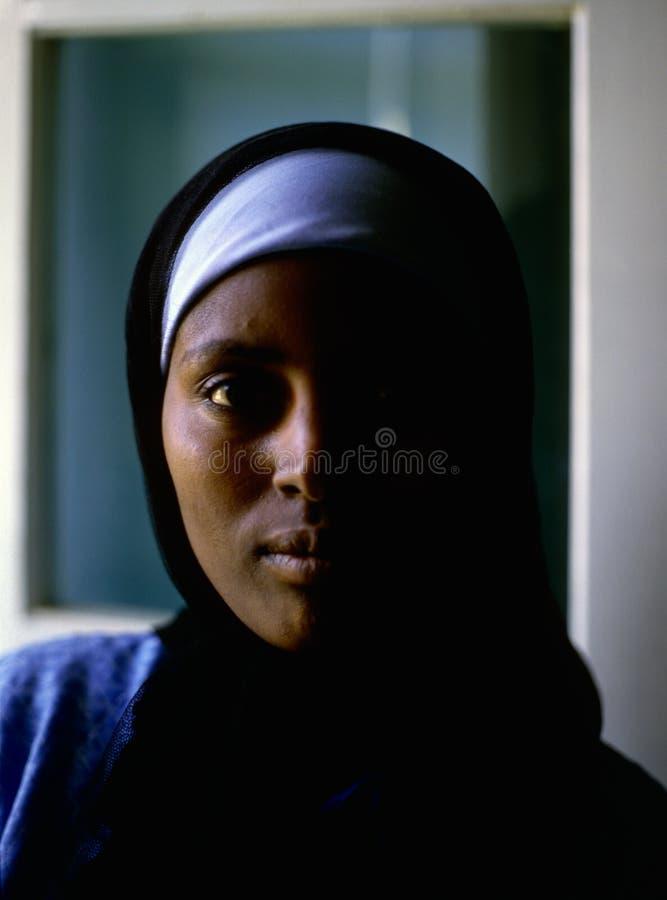 Donna di Nubian, Egitto immagini stock libere da diritti