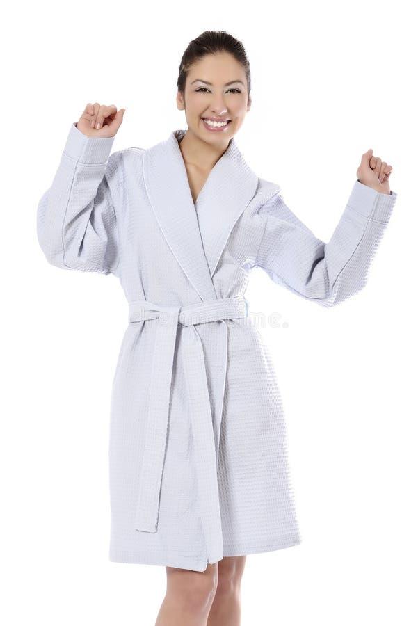 Donna di trattamento di bellezza della stazione termale immagine stock