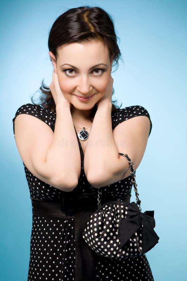 Donna ebrea attraente fotografia stock libera da diritti