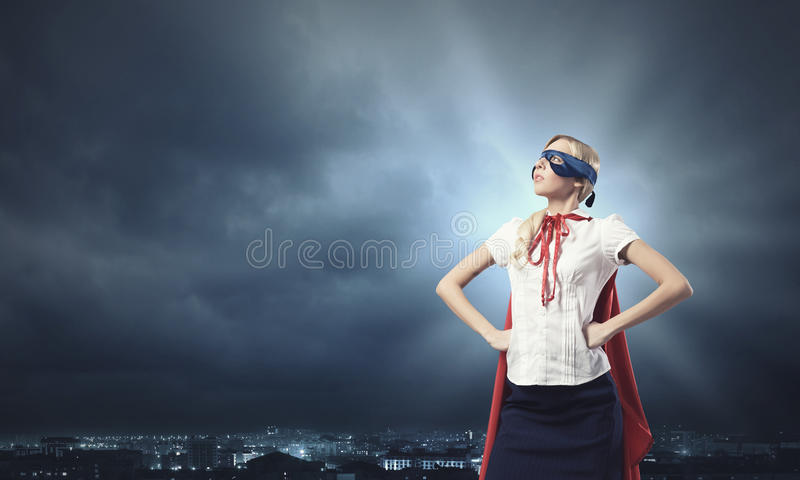 Donna eccellente fotografie stock libere da diritti