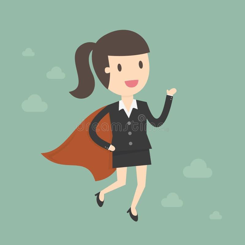Donna eccellente di affari illustrazione di stock