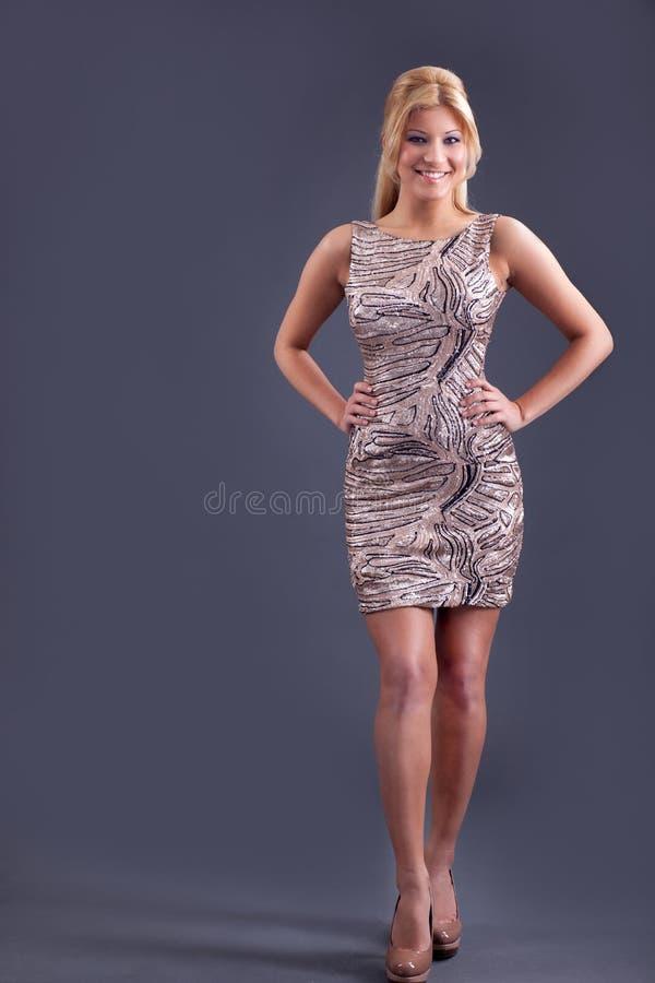 Donna elegante sexy fotografie stock