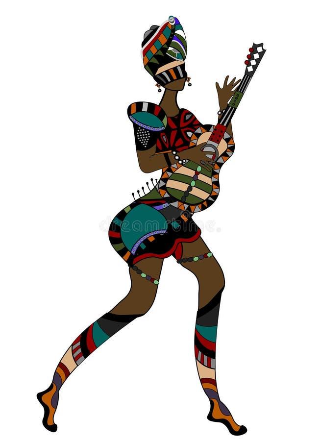Donna etnica illustrazione vettoriale