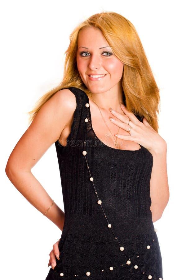 Download Donna felice immagine stock. Immagine di eleganza, progettazione - 7310745