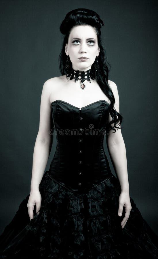 Donna gotica fotografie stock libere da diritti