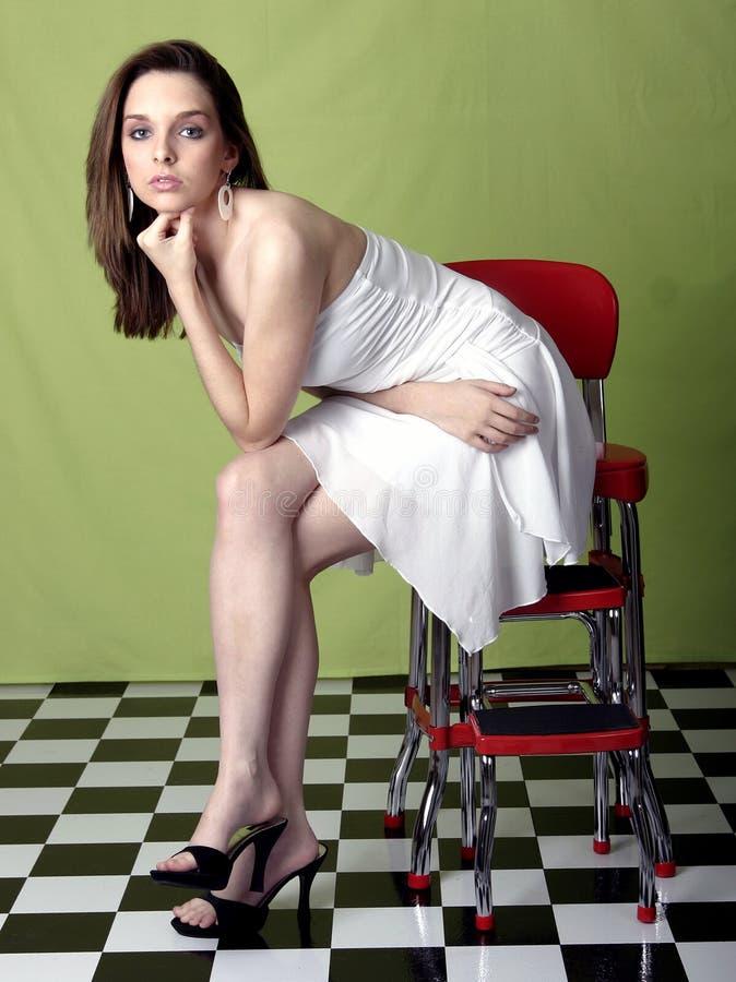 Download Donna graziosa immagine stock. Immagine di bello, sexy - 222529