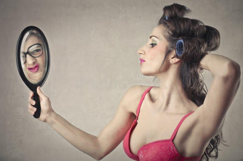 Donna graziosa immagini stock libere da diritti