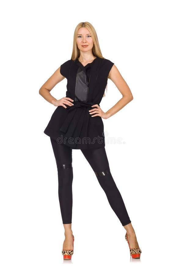 pantaloni neri stretti