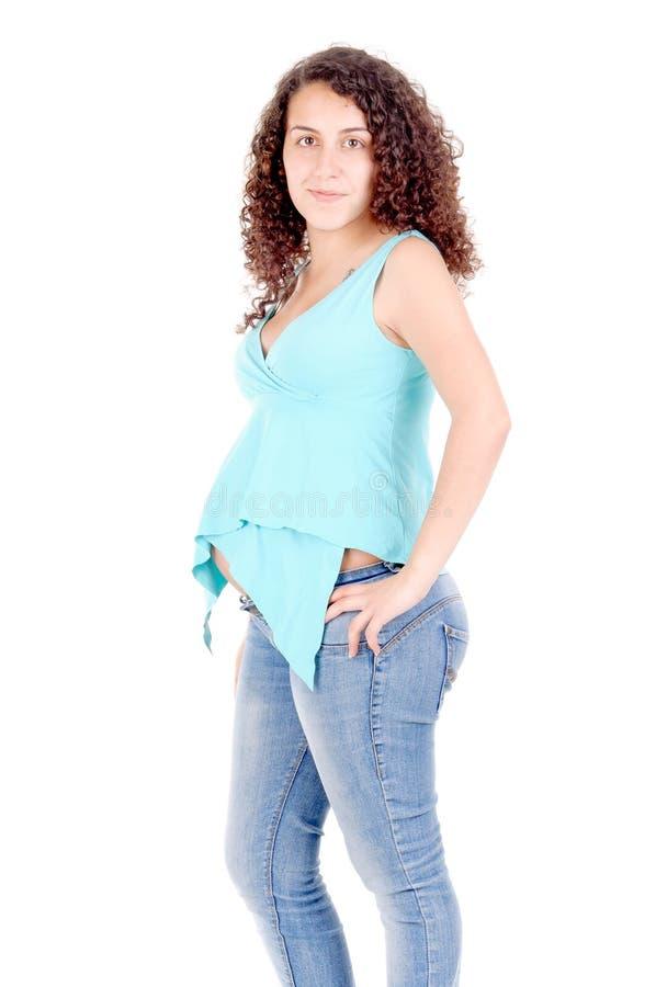 Donna incinta immagini stock libere da diritti