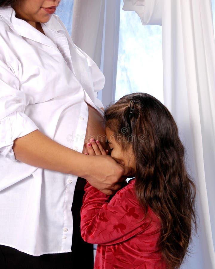 Donna incinta 6 fotografie stock