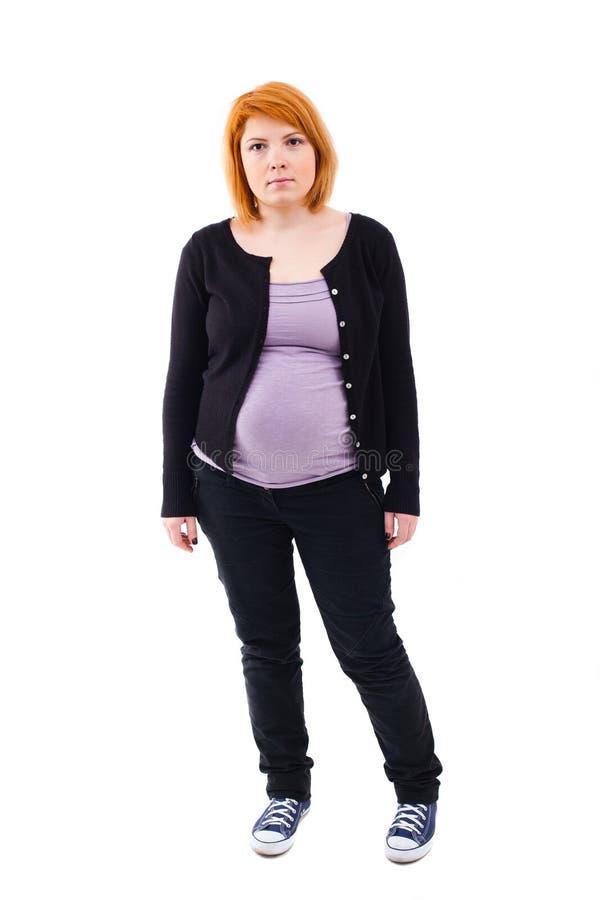 Condizione della donna incinta immagine stock libera da diritti