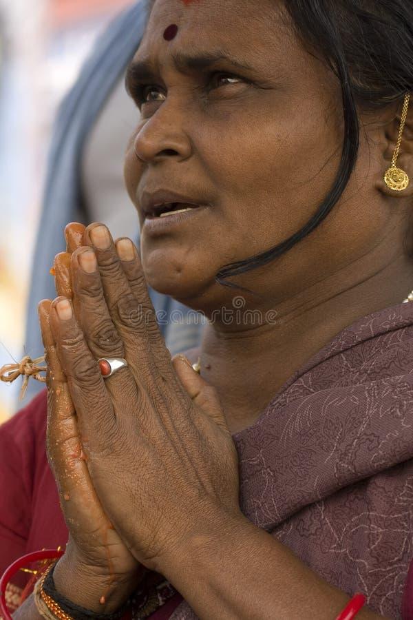 Donna indiana fotografie stock libere da diritti