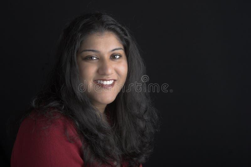 Donna indiana attraente fotografie stock libere da diritti
