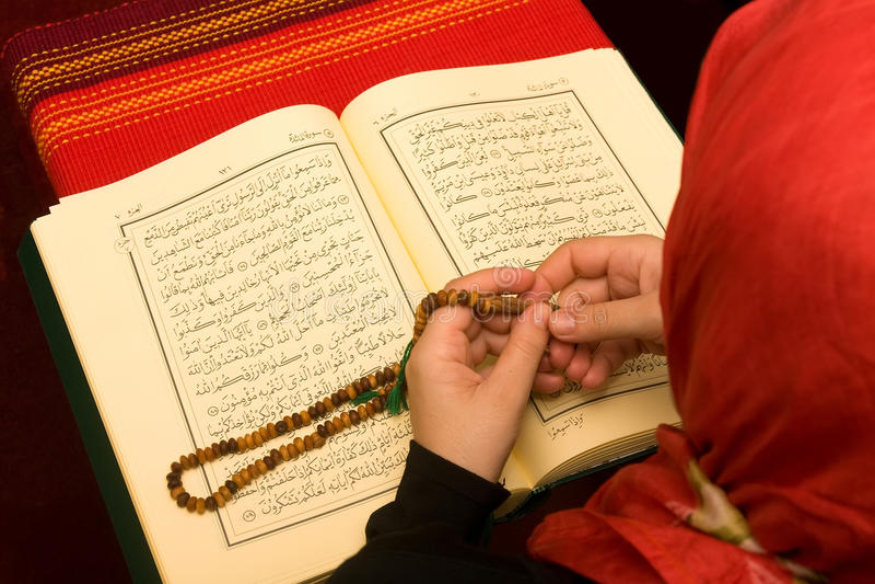donna islamica immagini stock