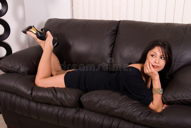 Donna ispanica Stunning. fotografia stock
